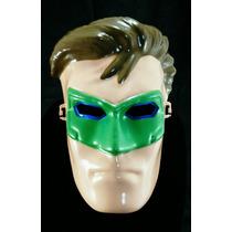 Máscara Lanterna Verde Com Led