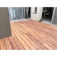 Decks Simil Madera Wpc Libre Mantenimiento - Kit Completo M2