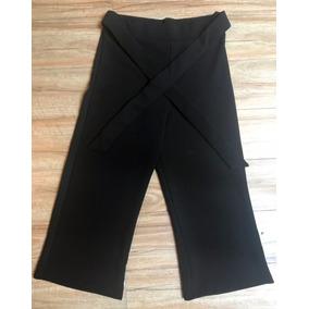 Pantalon Capri Con Lazo