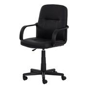Cadeira Escritório Office Black Diretor Preta Full