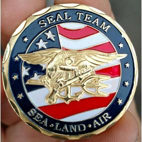Moeda Poker Guard Seal Team Navy - America Coin! Coleção!