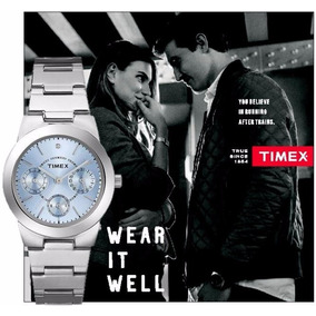 Reloj Timex Classic Blue - Mujer - Elegante Oferta Descuento