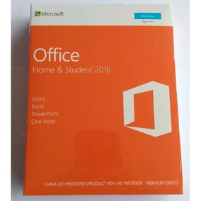 Office Home And Student 2016 Box Lacrado