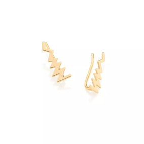 Brinco Ear Cuff No Formato De Raio You Rock Rommanel 526099