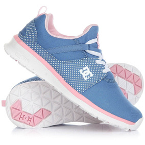 Dc Shoes Heathrow Adgs700017 Uwp Kids Azul Rosa
