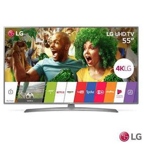 Smart Tv 4k Lg Led 55 Hdr, Painel Ips 4k Wifi 55uj6585