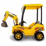 Carro A Bateria Montable Con Control Remoto Excavadora Niños