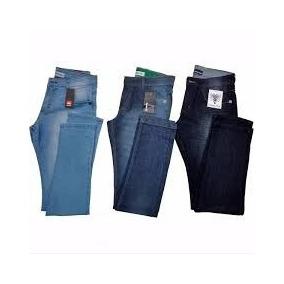 Kit Com 3 Calças Jeans Skinning Masculina De Marca Promoção