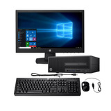 Pc Hp 280 G2 Sff Intel Core I3 Pantalla 18.5 Win10 Prof
