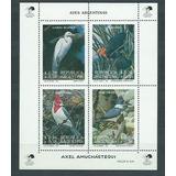1993 Fauna- Aves- Pajaros- Garza- Cardenal- Argentina