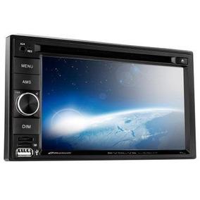 Central Multimída Dvd 2 Din Evolve Bluetooth Mirrorlink P332
