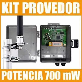 Kit Provedor 1000 Mw + Pig Tail + Caixa + Poe + Omni 12 Dbi