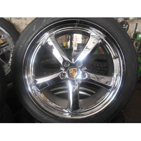 04 Rodas Aro 22 5x130 Cromadas Usadas P/ Cayenne E Audi Q7