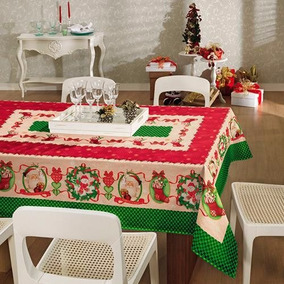 Toalha De Mesa Estampada Natal Páscoa Crianças Copa Namorado