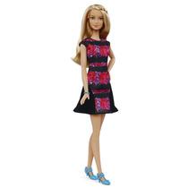 Boneca Barbie Fashionistas Rosa Original Mattel