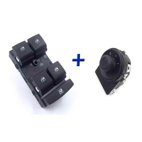 Kit 2 Switchs Para Vidrios Y Espejos Retrovisores Chevrolet