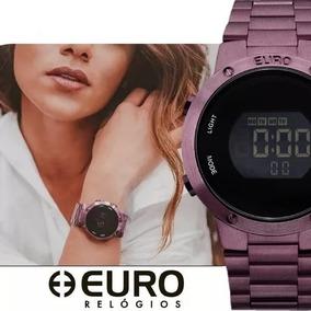ad00a2d521b Relógio Euro Fashion Digital Eubj3279ad 4t Roxo Sabrina Sato