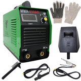 Máquina Solda Tig Inversora 250a Mma-250ak U.s.k + Luva