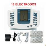 Electroestimulador Digital Muscular 16 Electrodos