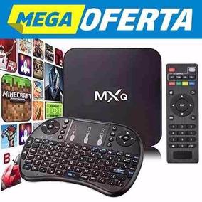 Tv Box Mxq Transforme Sua Tv Tubo Led Plasma Lcd Em Smart Tv