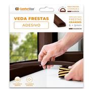 Veda Fresta 6x9 Mm Marrom 6m Comfort Door Envio Rapido