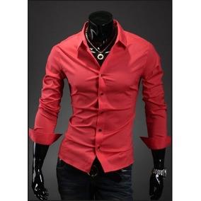 Camisas Pegadas Slim Fit Moda Japonesa * Fashion *