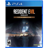Juego Ps4 Resident Evil Biohazard Gold Edition Para Vr Plays