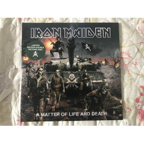 Iron Maiden A Matter Of Life And Death Vinil Lp Picture