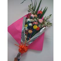 Flores Rosas Goma Eva 15 Años Casamiento Bautismo