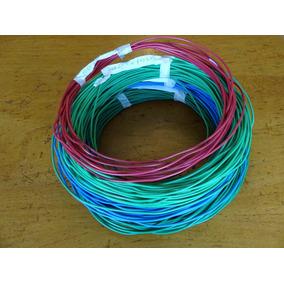 Cable Tw 12 Awg 7 Pelos 100% Cobre Tramos