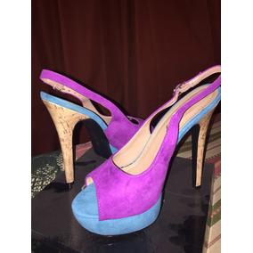 Preciosos Zapatos Chalas De Fiesta Taco 12