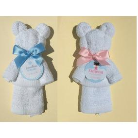 35 Recuerdos Para Baby Shower, Osos De Toalla Facial