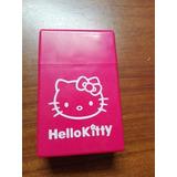 Cigarrera Porta Cigarros Hello Kitty Plastico No Silicona