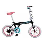Bicicleta Plegable Bia Rodado 16 Disney 7152b