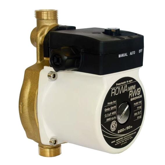 Bomba Presurizadora Elevadora Presion 9 Metros 30 Lts/min 2 Ba?os Mayor Presión Más Agua Apta Termotanque / Calefón