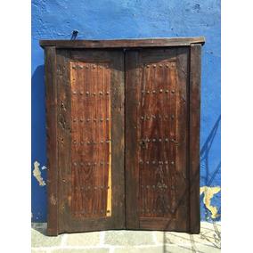 Puerta Antigua De Madera Huanacaxtle Modelo G101