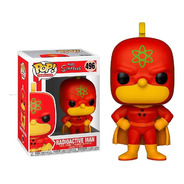 The Simpsons - Radioactive Man #496 - Funko Pop! Robot Negro