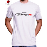 Camiseta Charger Rt Dodge 73 Dodgão Americano V8 Premium Top