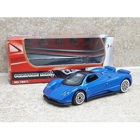 Pagani Zonda C12 Escala 1:64 Motor Max Azul