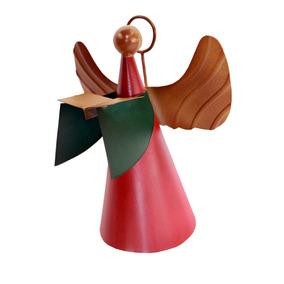 Enfeite De Natal Anjo De Presépio Com Livro Decorativo Mesa
