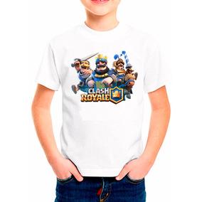 Remera Clash Royale Para Niños