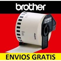 Rollo De Etiquetas Brother Dk2205 Ql700 Envios Gratis 10 Pzs