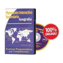 Nueva Planeacion Y Avances Para Secundaria Geografia