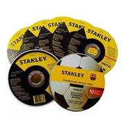 Set 100 Discos De Corte Amoladora 115mm Stanley Sta8063b