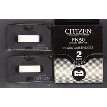 2 Caixas C/ 4 Fitas P/ Impressora Térmica Citizen Pn60