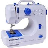 Máquina De Costura Portátil Bivolt 8 Pontos Zig Zag Residenc