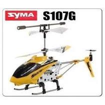 Mini Helicóptero Syma S107g C/ Giro 3 Canais - Pronta Entreg
