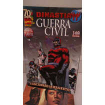 Hq Panini Marvel Especial Guerra Civil Dinastia Vol 14
