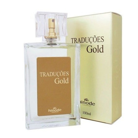 Perfume Nacional Hinode Traduções N° 06 Masculino 100ml