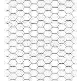 Tejido Alambre Hexagonal Pajarero 1/2 X1,25mt X 25mt 0,64mm
